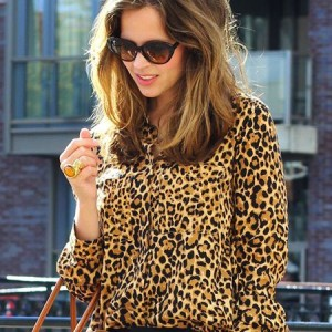 Camasa animal print, noul trend in moda de primavara-vara 2015