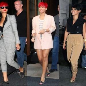 5 tinute de toamna inspirate de Rihanna