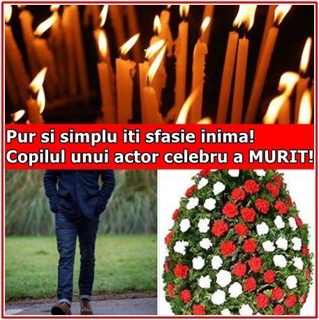 Pur si simplu iti sfasie inima! Copilul unui actor celebru a MURIT!