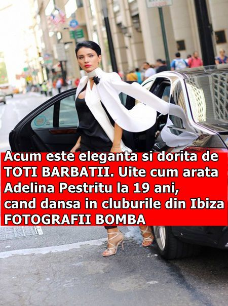 Acum este eleganta si dorita de TOTI BARBATII. Uite cum arata Adelina Pestritu la 19 ani, cand dansa in cluburile din Ibiza. FOTOGRAFII BOMBA