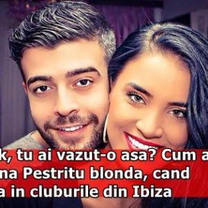 Speak, tu ai vazut-o asa? Cum arata Adelina Pestritu blonda, cand dansa in cluburile din Ibiza