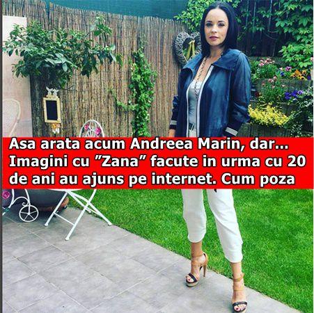 """Asa arata acum Andreea Marin, dar… Imagini cu """"Zana"""" facute in urma cu 20 de ani au ajuns pe internet. Cum poza"""