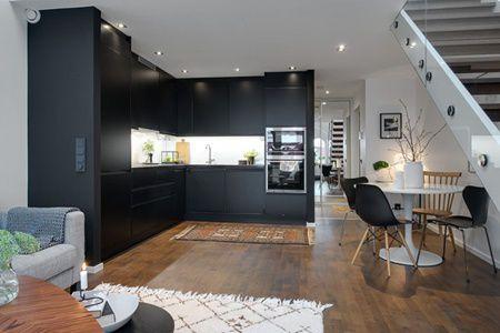 Decor simplu si elegant pentru un apartament mic