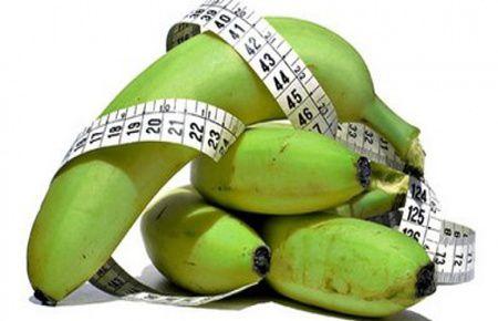 Banane verzi - calea sigura spre sanatate si o silueta subtire