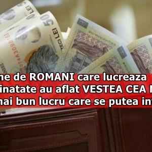 Milioane de ROMANI care lucreaza in strainatate au aflat VESTEA CEA MARE! E cel mai bun lucru care se putea intampla