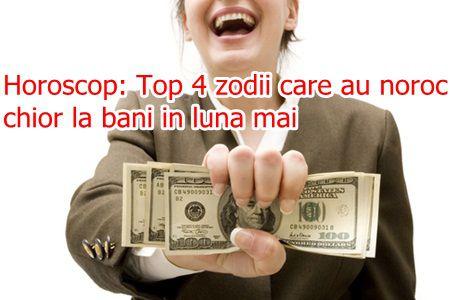 Horoscop: Top 4 zodii care au noroc chior la bani in luna mai