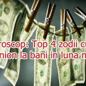 Horoscop: Top 4 zodii cu ghinion la bani in luna mai