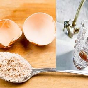 A zdrobit fin cateva coji de oua si le-a amestecat cu lapte. Rezultatele i-a uimit si pe medici