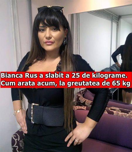 Bianca Rus a slabit a 25 de kilograme. Cum arata acum, la greutatea de 65 kg