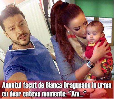 """Anuntul facut de Bianca Dragusanu in urma cu doar cateva momente: """"Am…"""""""