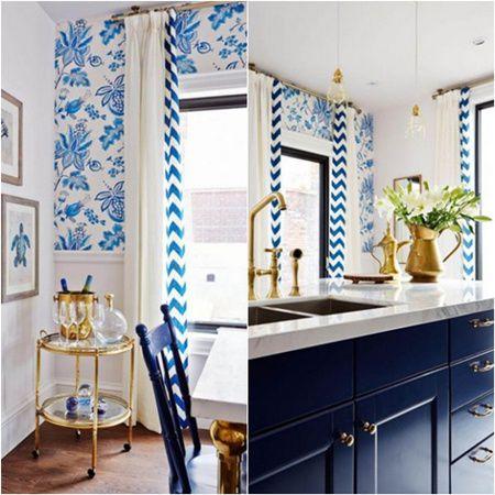 Design de bucatarie in trei culori