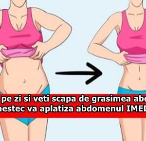 2 linguri pe zi si veti scapa de grasimea abdominala. Acest amestec va aplatiza abdomenul IMEDIAT!