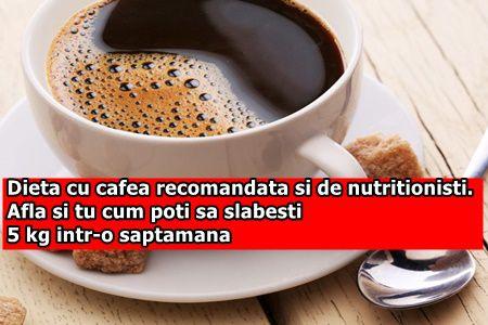 Dieta cu cafea recomandata si de nutritionisti. Afla si tu cum poti sa slabesti 5 kg intr-o saptamana