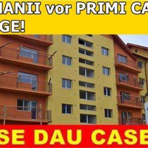 ROMANII vor PRIMI CASE. E LEGE!