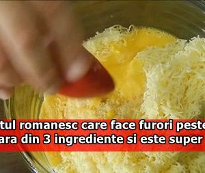 Preparatul romanesc care face furori peste hotare. Se prepara din 3 ingrediente si este super delicios