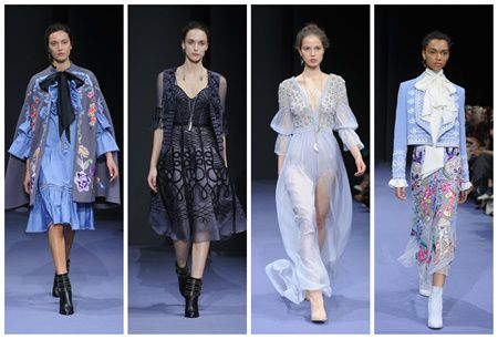 5 tinute inspirationale de la LONDON FASHION WEEK pentru primavara 2017