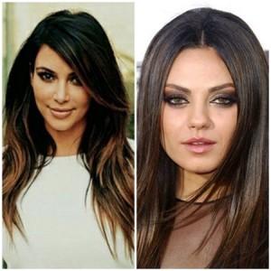 Culori de par toamna 2015: ce culori trebuie sa poarte brunetele