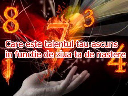 Care este talentul tau ascuns in functie de ziua ta de nastere