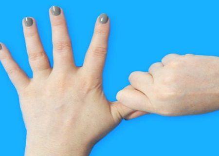 Tineti degetul mare timp de 20 de secunde. Veti fi uimiti ce se va intampla