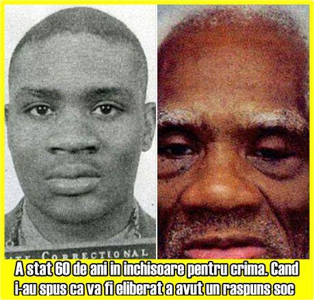 A stat 60 de ani in inchisoare pentru crima. Cand i-au spus ca va fi eliberat a avut un raspuns soc