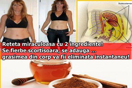 Reteta miraculoasa cu 2 ingrediente! Se fierbe scortisoara, se adauga ... grasimea din corp va fii eliminata instantaneu!