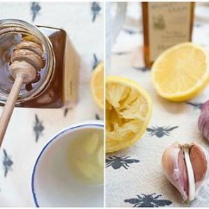 Elixir magic pentru tinerete cu miere, lamaie, usturoi si ulei de in