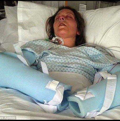 Si-a pierdut unghiiul si paul de la o infectie cauzata de ceva care foloseste orice femeie