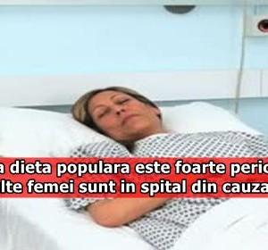 Aceasta dieta populara este foarte periculoasa. Mai multe femei sunt in spital din cauza ei!