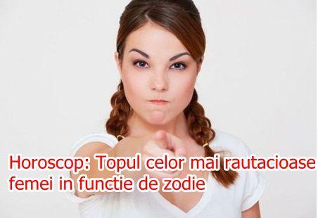 Horoscop: Topul celor mai rautacioase femei in functie de zodie