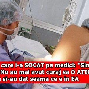 """Femeia care i-a SOCAT pe medici: """"Simt CEVA acolo!"""" Nu au mai avut curaj sa O ATINGA dupa ce si-au dat seama ce e in EA"""