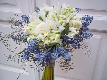 Flori pentru buchetul de mireasa in timpul iernii