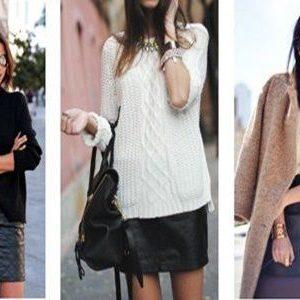 Fuste la moda in toamna-iarna 2016-2017: se poarta modelele din lana si piele