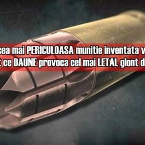 Iata ce daune poate provoca cel mai letal glont inventat vreodata