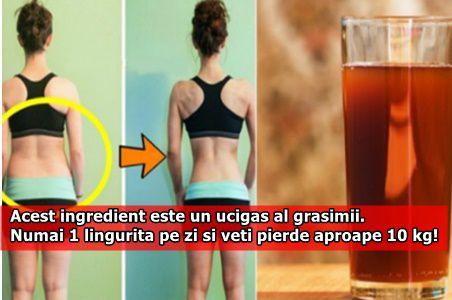 Acest ingredient este un ucigas al grasimii. Numai 1 lingurita pe zi si veti pierde aproape 10 kg!