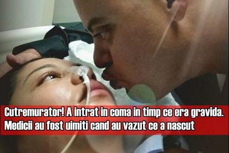 A intrat in coma in timp ce era gravida. Medicii au fost uimiti cand au vazut ce a nascut
