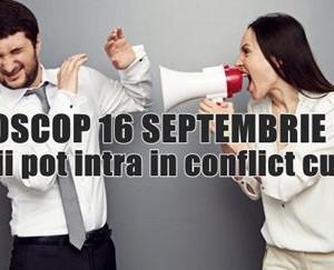 Horoscop 16 Septembrie 2015: Taurii pot intra in conflict cu sefii. Mare atentie!