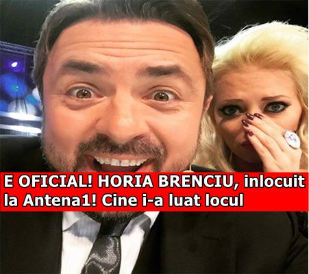 E OFICIAL! HORIA BRENCIU, inlocuit la Antena1! Cine i-a luat locul
