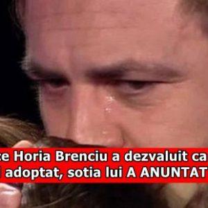 Dupa ce Horia Brenciu a dezvaluit ca are un baietel adoptat, sotia lui A ANUNTAT ASTA