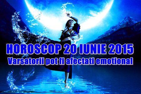 Horoscop Sambata 20 iunie 2015
