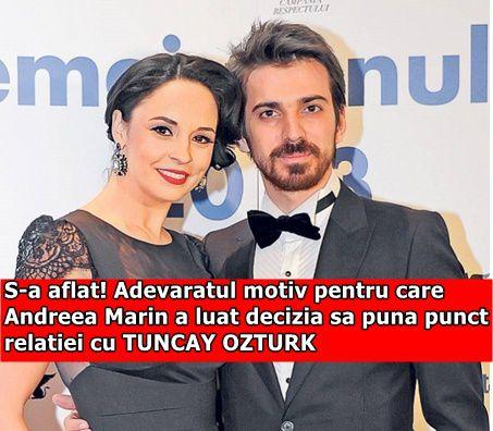 S-a aflat! Adevaratul motiv pentru care Andreea Marin a luat decizia sa puna punct relatiei cu TUNCAY OZTURK