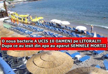 O noua bacterie A UCIS 10 OAMENI pe LITORAL!!! Dupa ce au iesit din apa au aparut SEMNELE MORTII