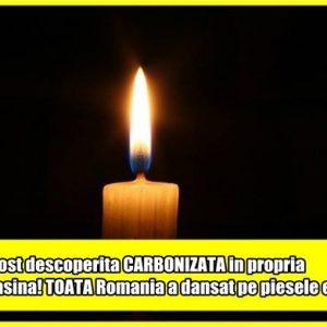 A fost descoperita CARBONIZATA in propria masina! TOATA Romania a dansat pe piesele ei…