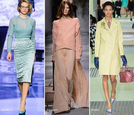 Culorile pastelate - tendinta noua in toamna 2015