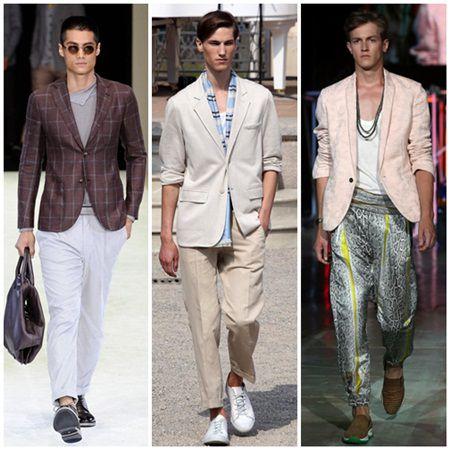 Moda barbati primavara-vara 2015: ce se poarta