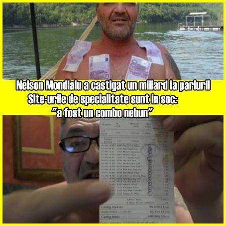 """Nelson Mondialu a castigat un miliard la pariuri! Site-urile de specialitate sunt in soc: """"a fost un combo nebun"""""""