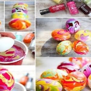 Cea mai moderna metoda pentru vopsirea oualor de Pasti in acest an. Frumusete nevazuta in cel mai scurt timp