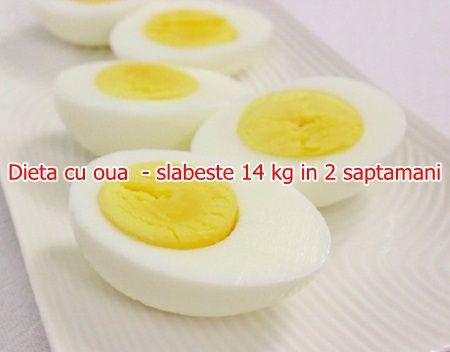 Dieta cu oua  - slabeste 14 kg in 2 saptamani