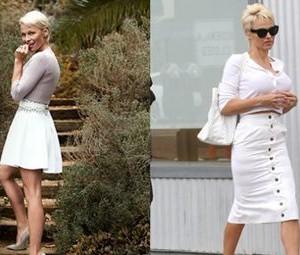 Pamela Anderson a abandonat parul scurt. Uite ce bine arata din nou cu parul lung