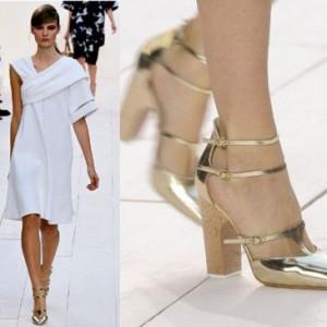 Pantofii metalici, noul trend al acestei toamne