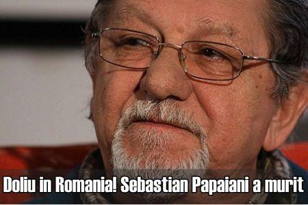 Doliu in Romania! Dupa Gyuri, Sebastian Papaiani a murit